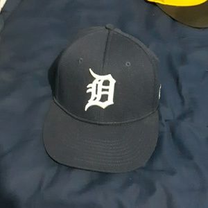 Detroit Tigers Baseball Cap Adjustable Strapback